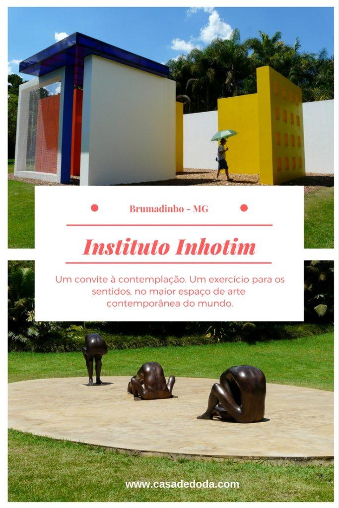 Instituto Inhotim, em Brumadinho, Minas Gerais