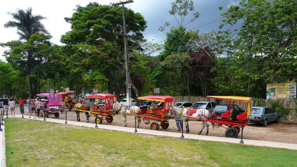 Charretes para passeios em Tiradentes