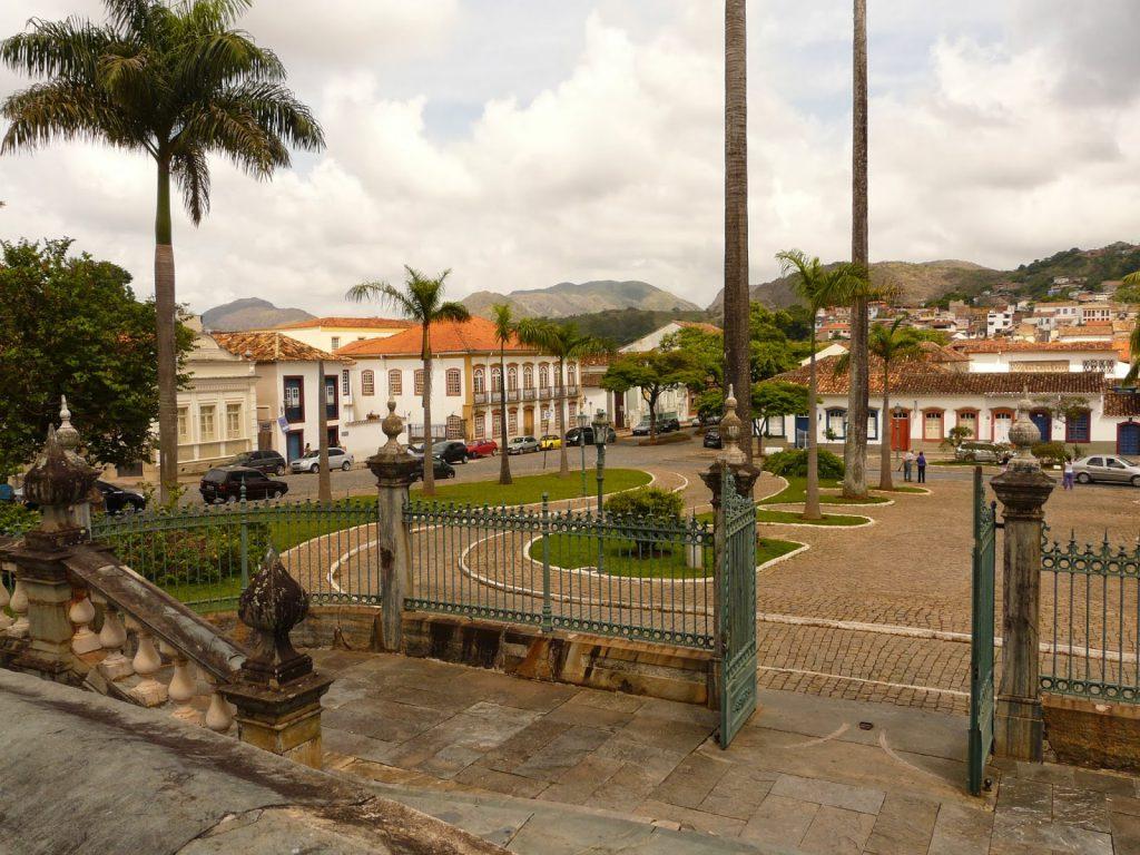 Praça Frei Orlando, em São João del Rei