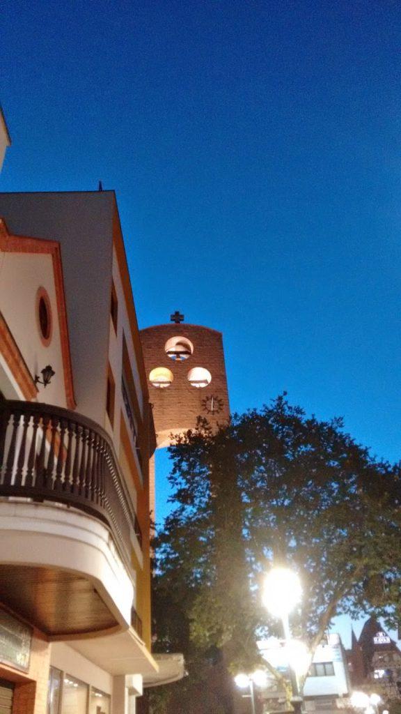 Morar em Blumenau - Torre da Catedral São Paulo Apóstolo