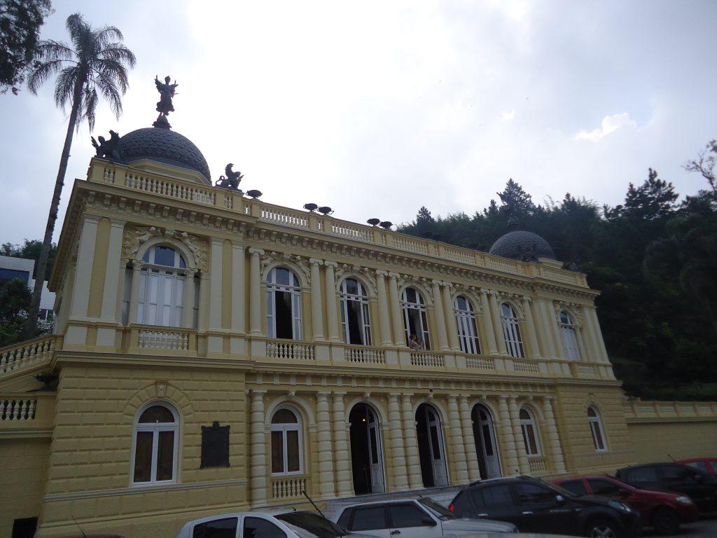 Palácio amarelo Petrópolis