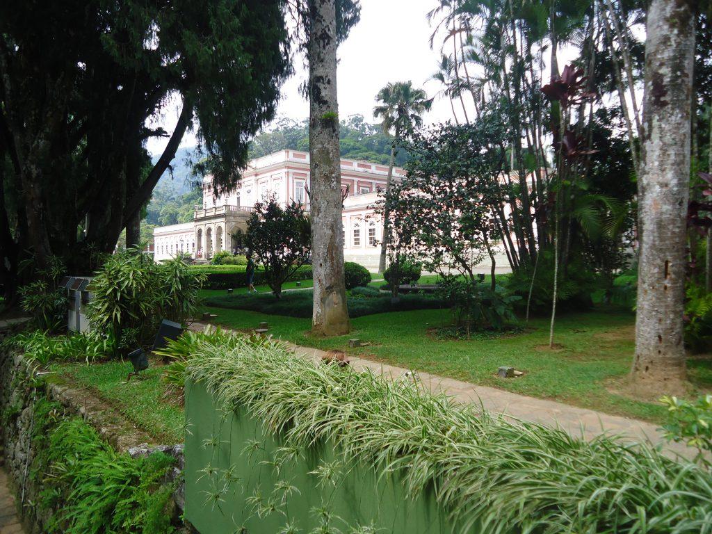 Jardins do Museu Imperial em Petrópolis