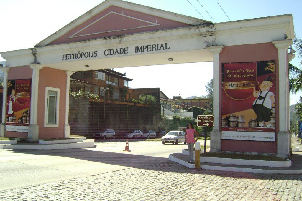 Pórtico de Petrópolis a cidade imperial