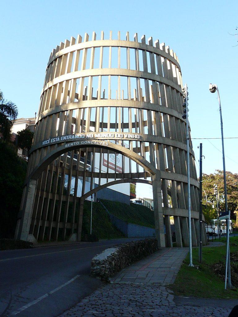 Pórtico Pipa Bento Gonçalves