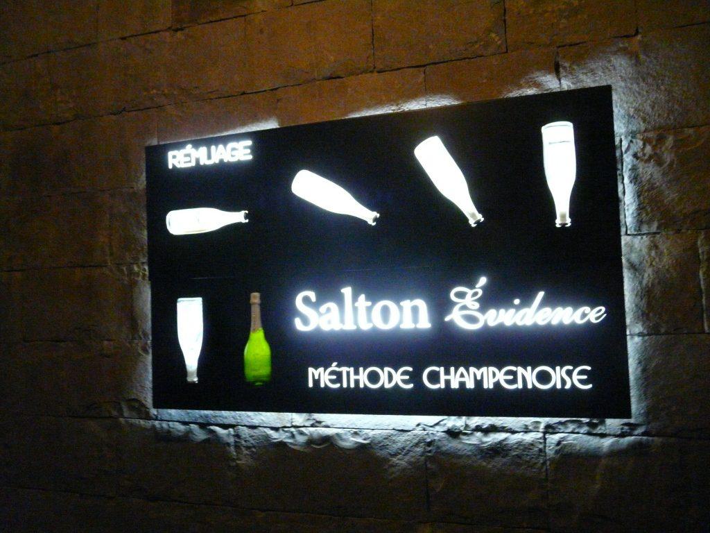 Método de produção dos espumantes Salton
