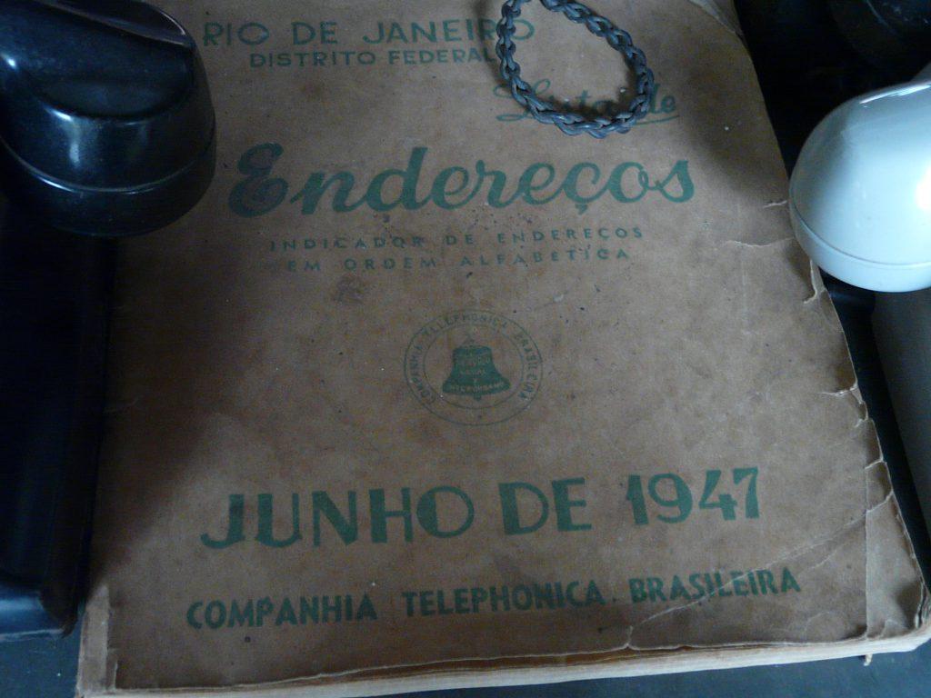 Antiga lista telefônica