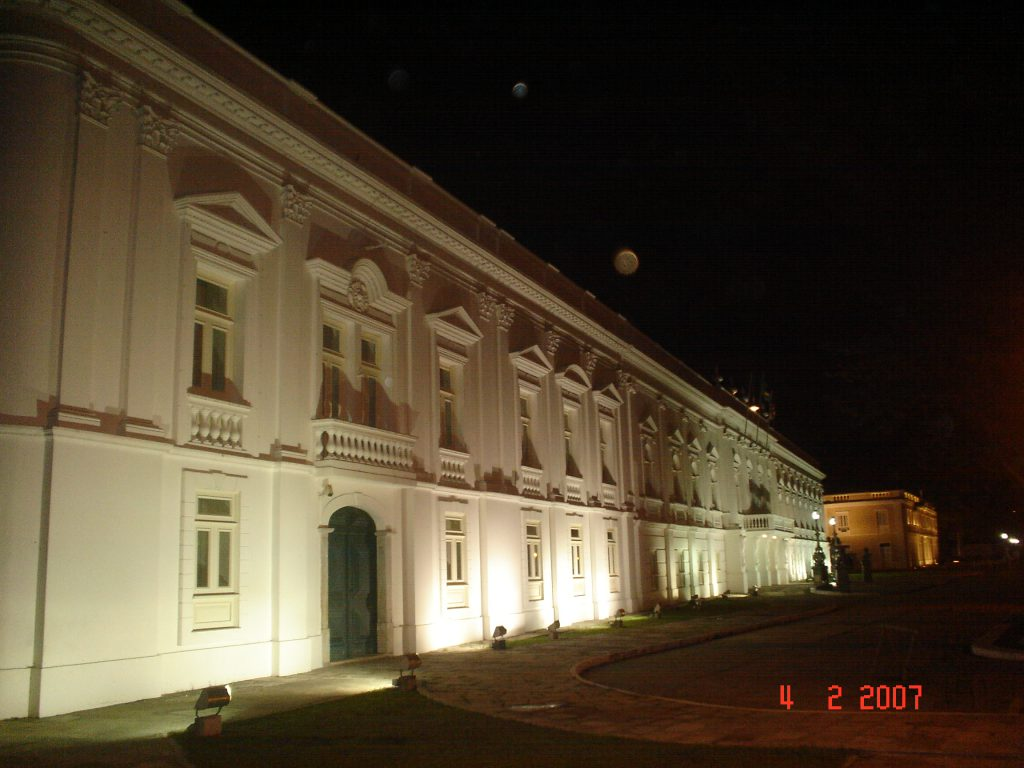 Férias em família - Palácio dos Leões, sede do governo do Maranhão