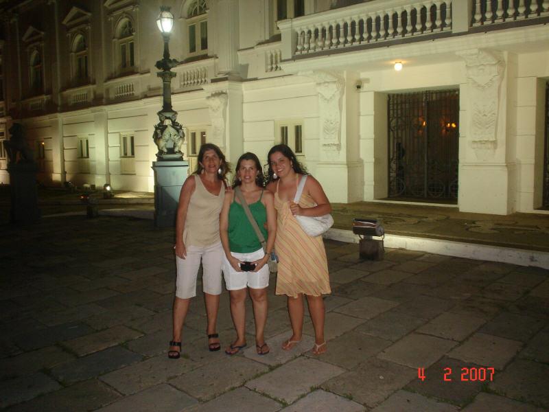 Passeio noturno no centro histórico de São Luís