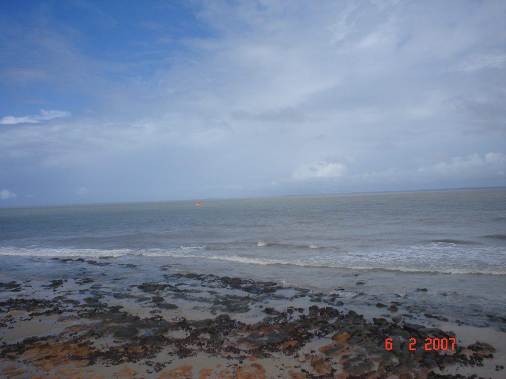 Praia do Calhau, em São Luís