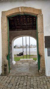 Entrada do Forte Santana, em Florianópolis