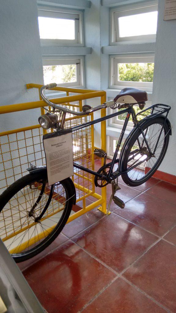 Bicicleta usada por leituristas