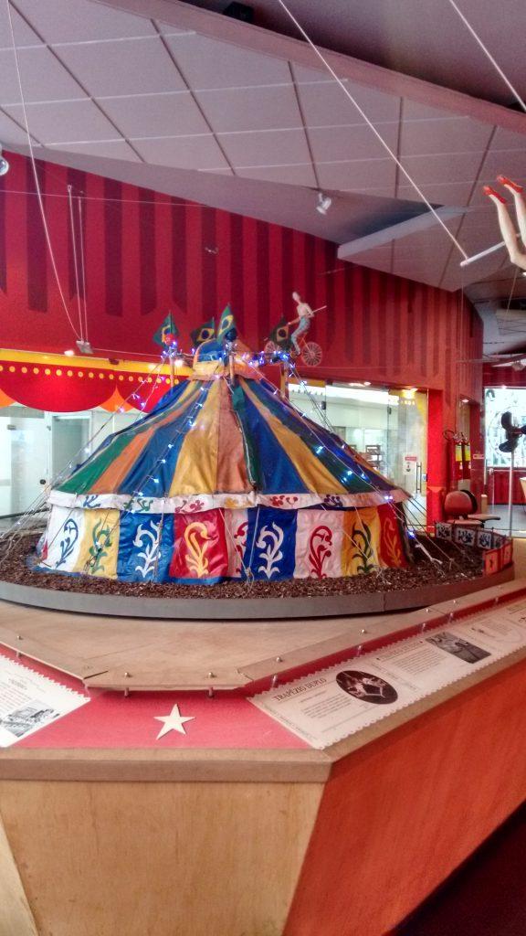 A memória do circo preservada