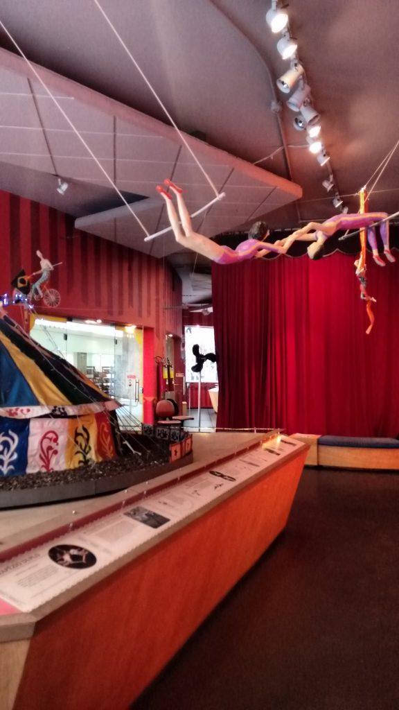 O Circo chegou na Galeria Olido