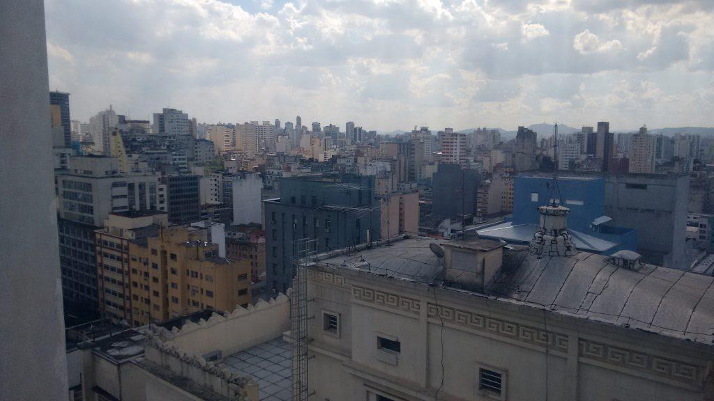Dan Inn Hotel Planalto, vista de São Paulo