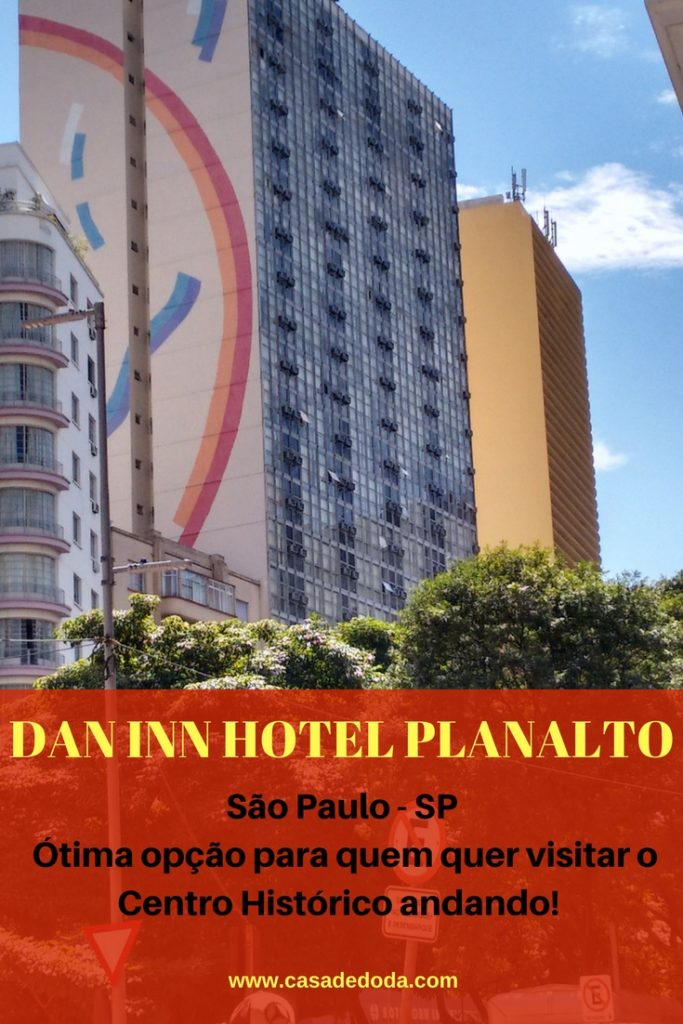 Dan Inn Hotel Planalto, no centro de São Paulo