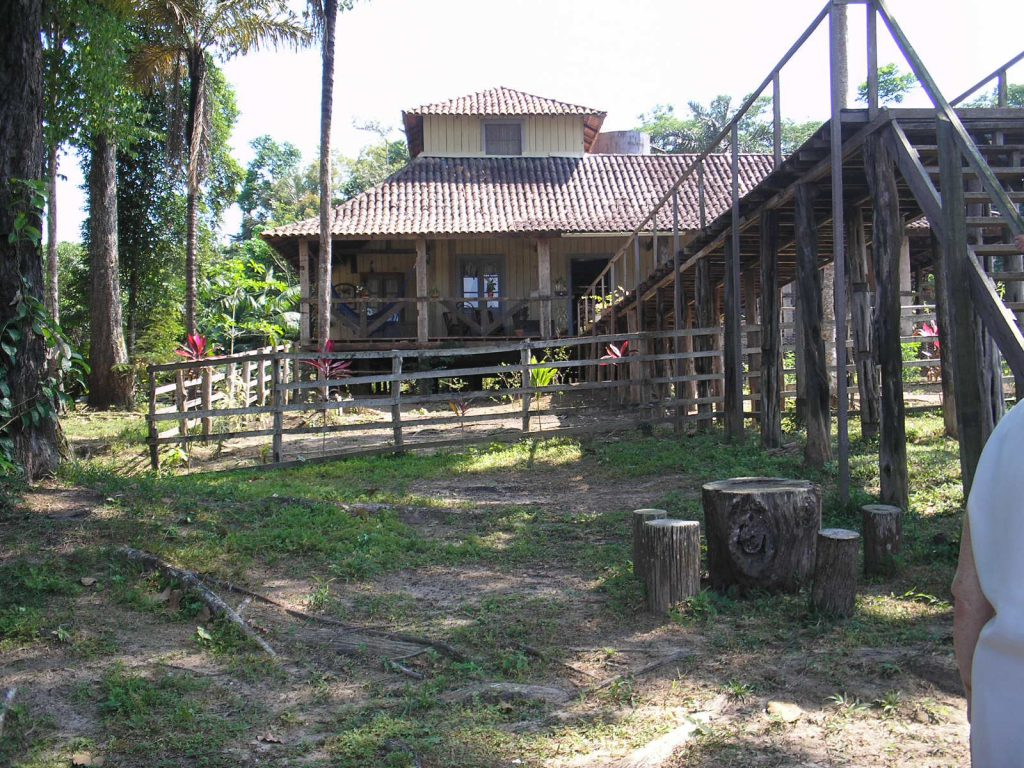 Casa do seringalista