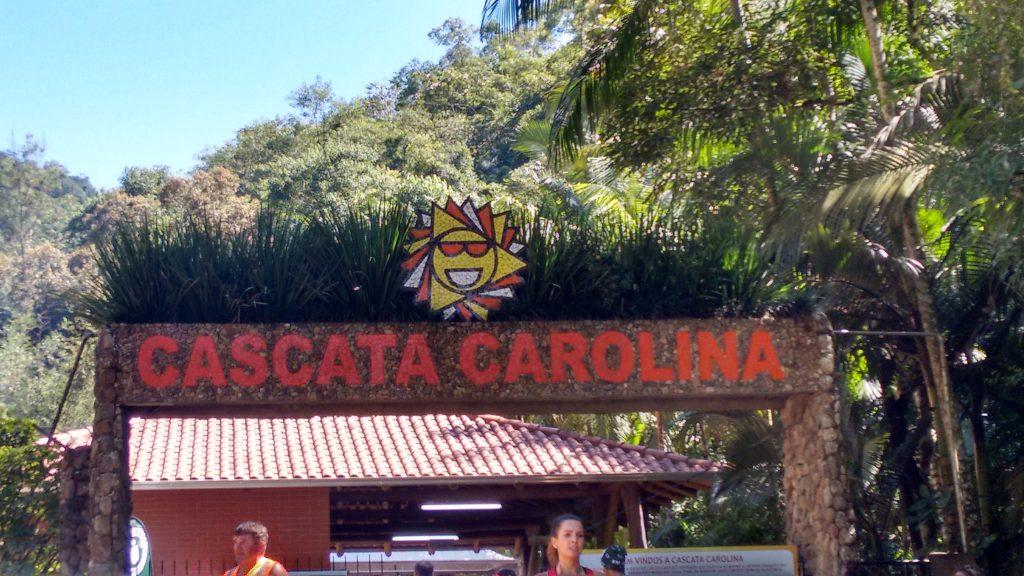 Cascata Carolina em Gaspar