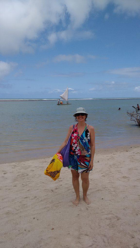 Pegando um bronze na Praia de Muro Alto