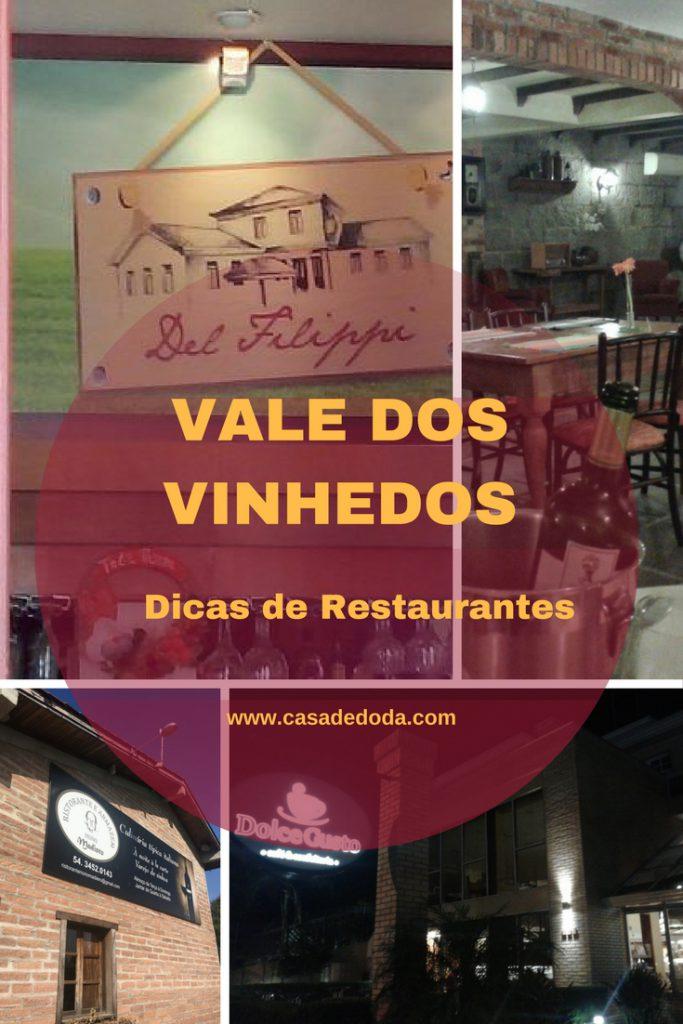 Restaurantes no Vale dos Vinhedos