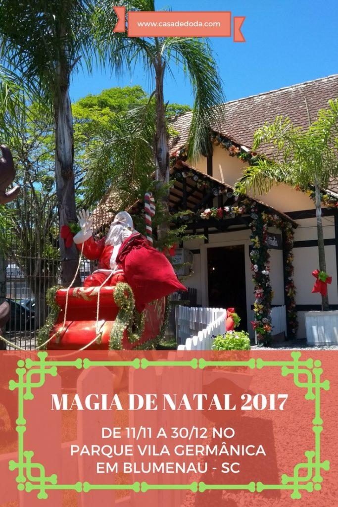 Magia de Natal, Blumenau