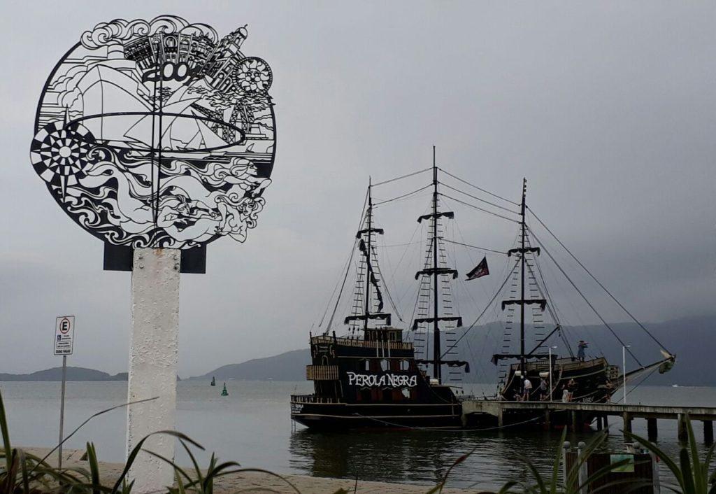 Escultura dos 500 anos de São Francisco do Sul