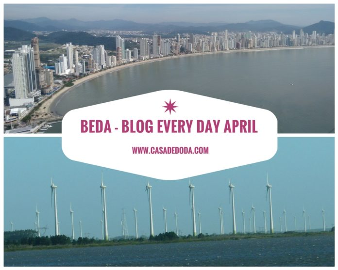 BEDA Blog Every Day April