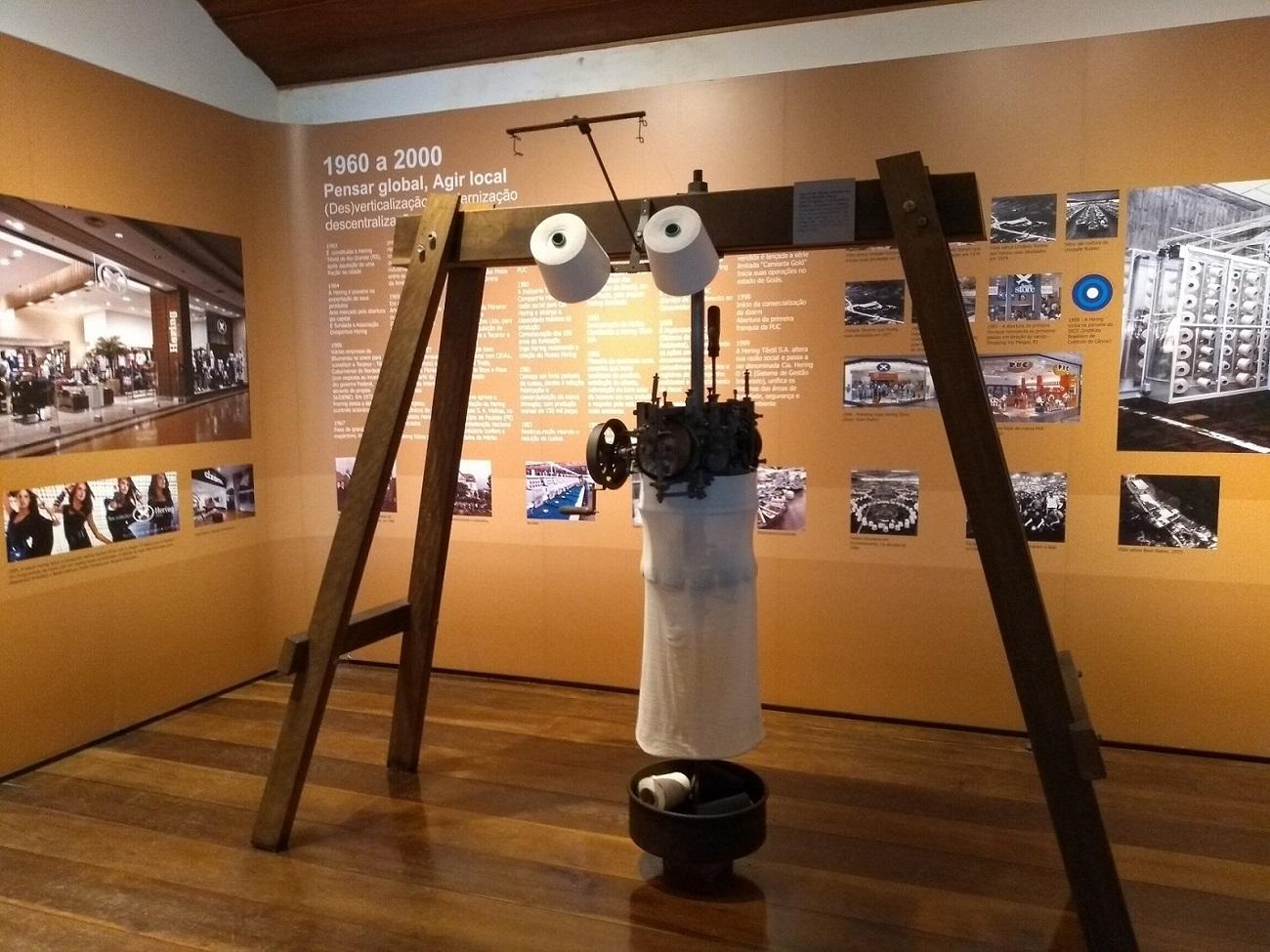 Museu Hering tear fabricado em 1902
