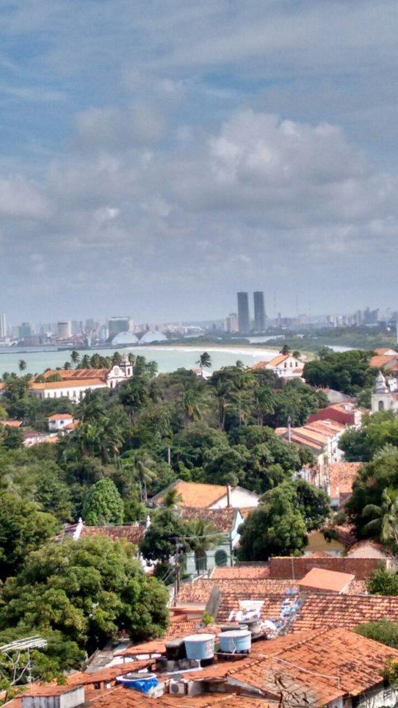 Vista de Recife a partir de Olinda