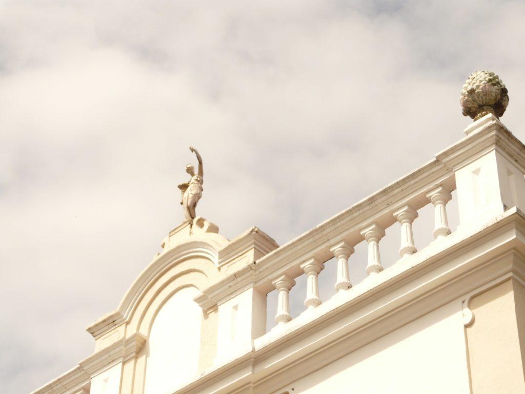 Detalhes nas fachadas dos casarões
