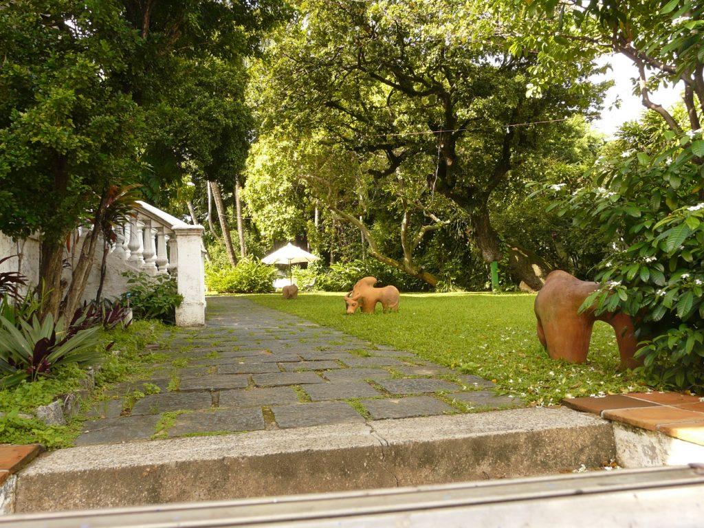 Os jardins de Olinda