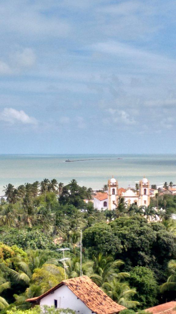Vista da baia de Recife