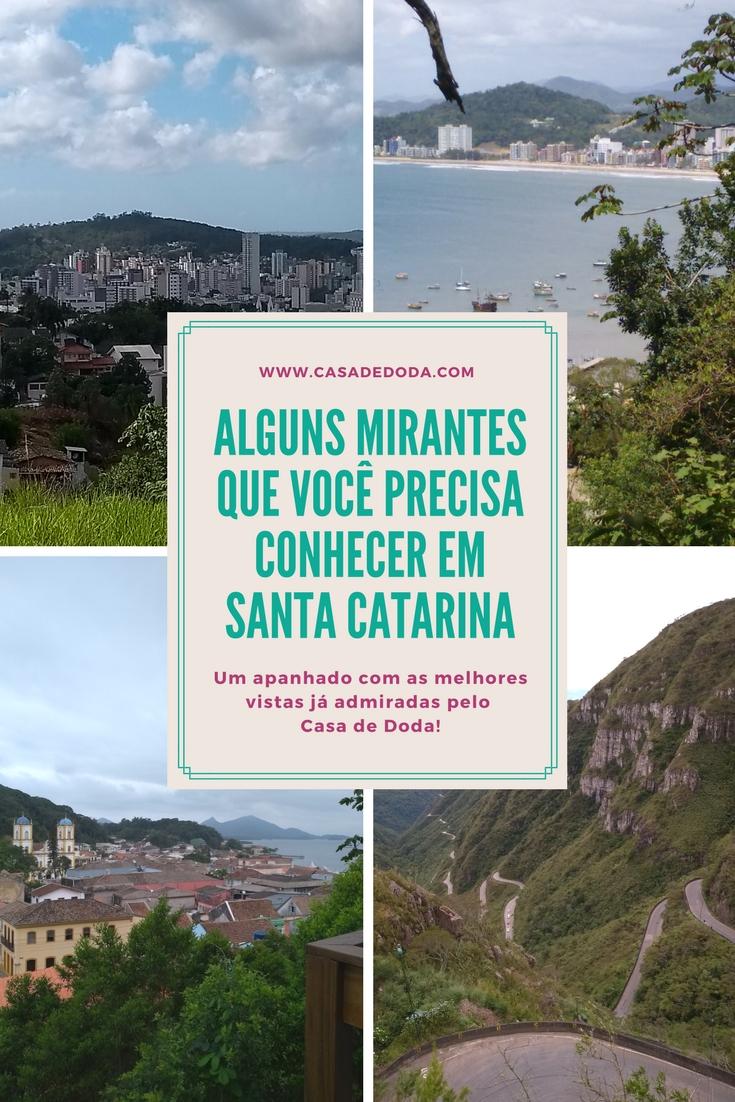 As melhores vistas de Santa Catarina