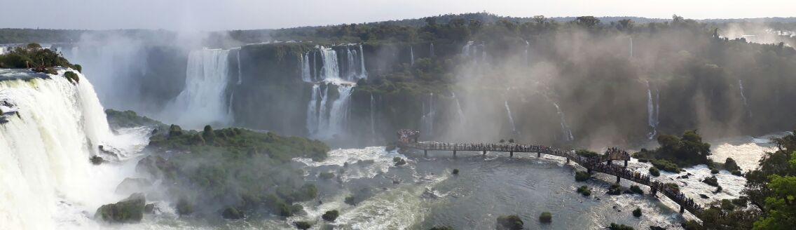 Cataratas do Iguaçu onde fica este Patrimônio Natural UNESCO