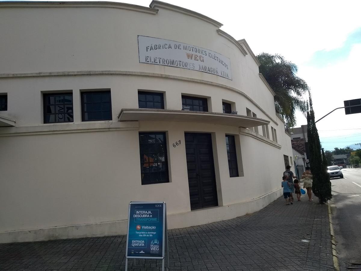 Museu WEG de Ciência e Tecnologia prédio Sede