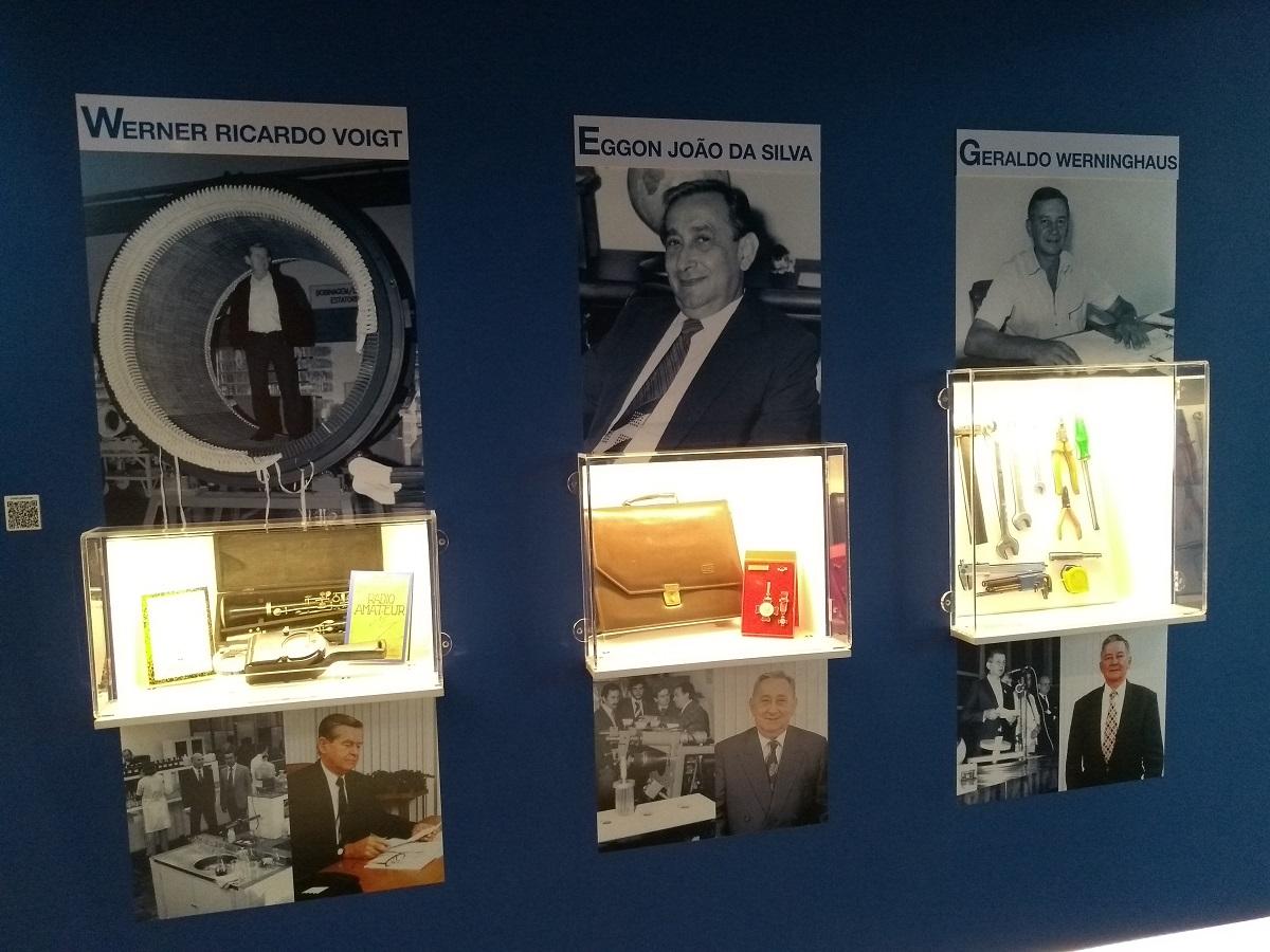 Museu WEG de Ciência e Tecnologia fundadores