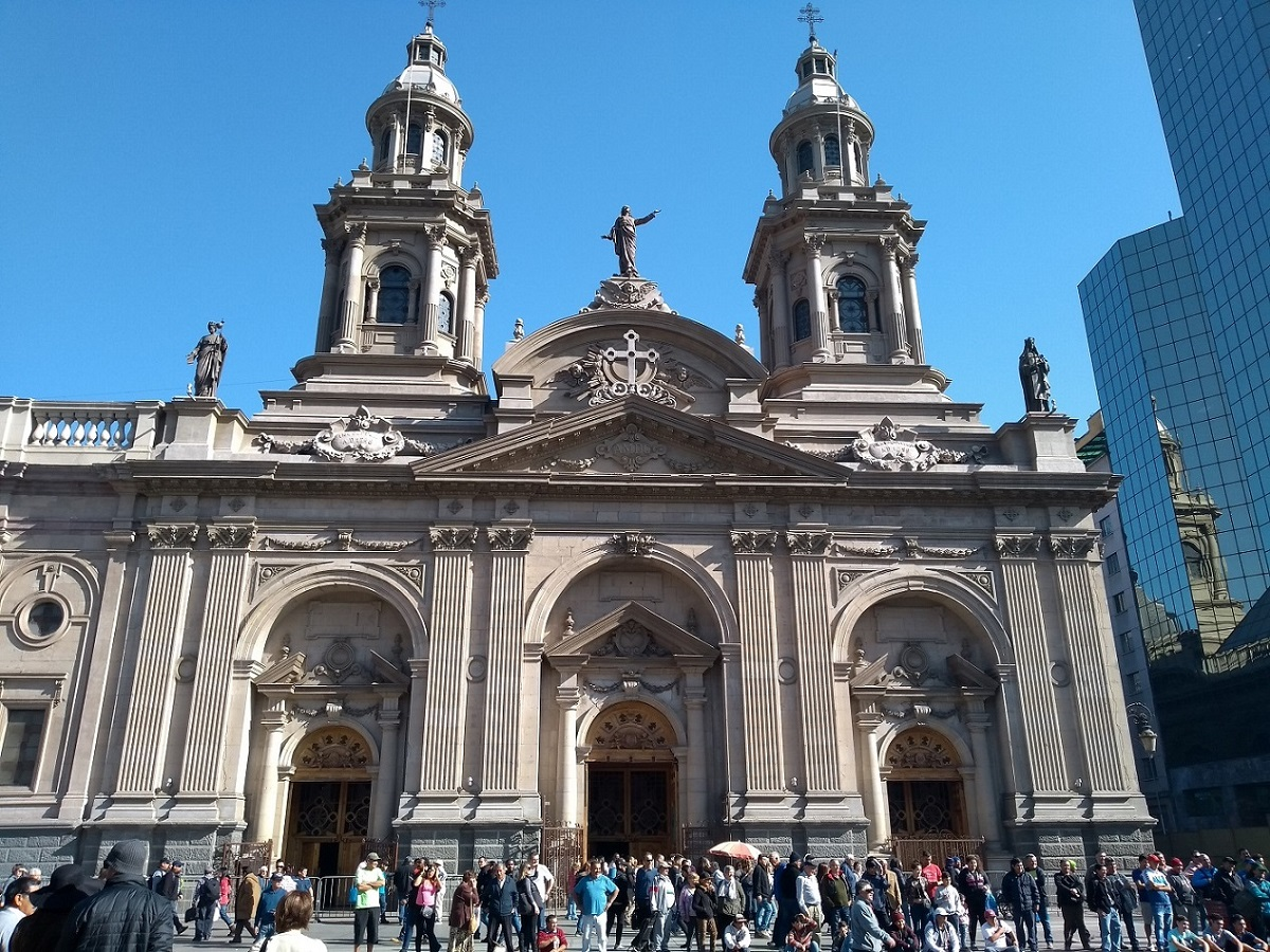 Santiago do Chile Catedral