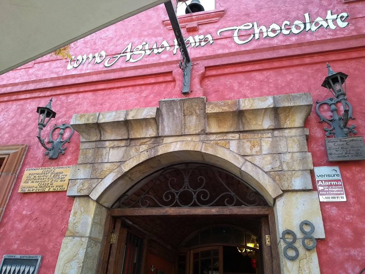 Santiago do Chile Como Água Para Chocolate