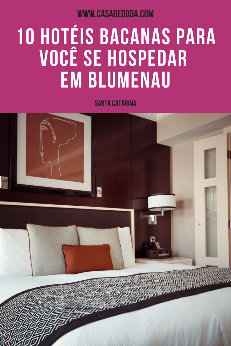 Dicas de hospedagem em Blumenau