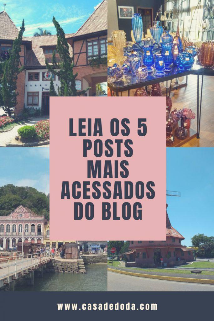 Os 5 posts mais acessados do blog