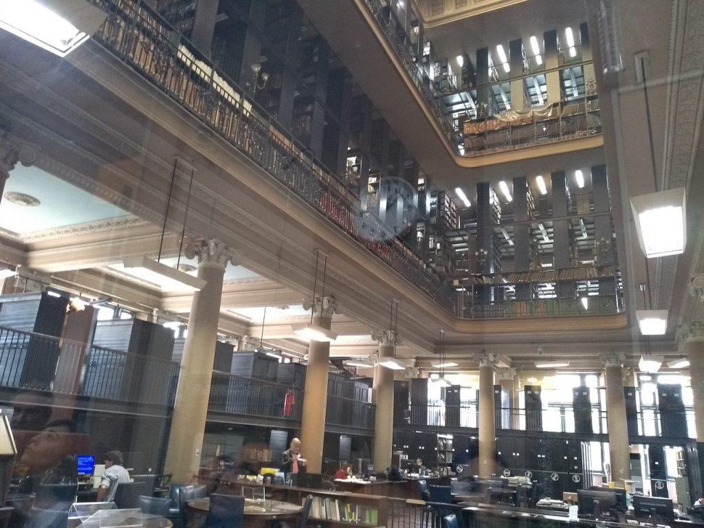 Área interna de pesquisa