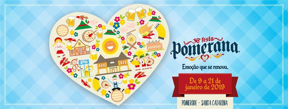 Calendário de eventos Pomerode, Festa Pomerana