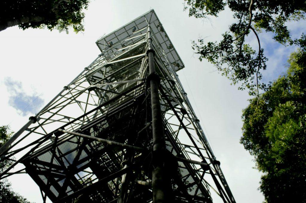 Torre de observação tem 42 metros e altura