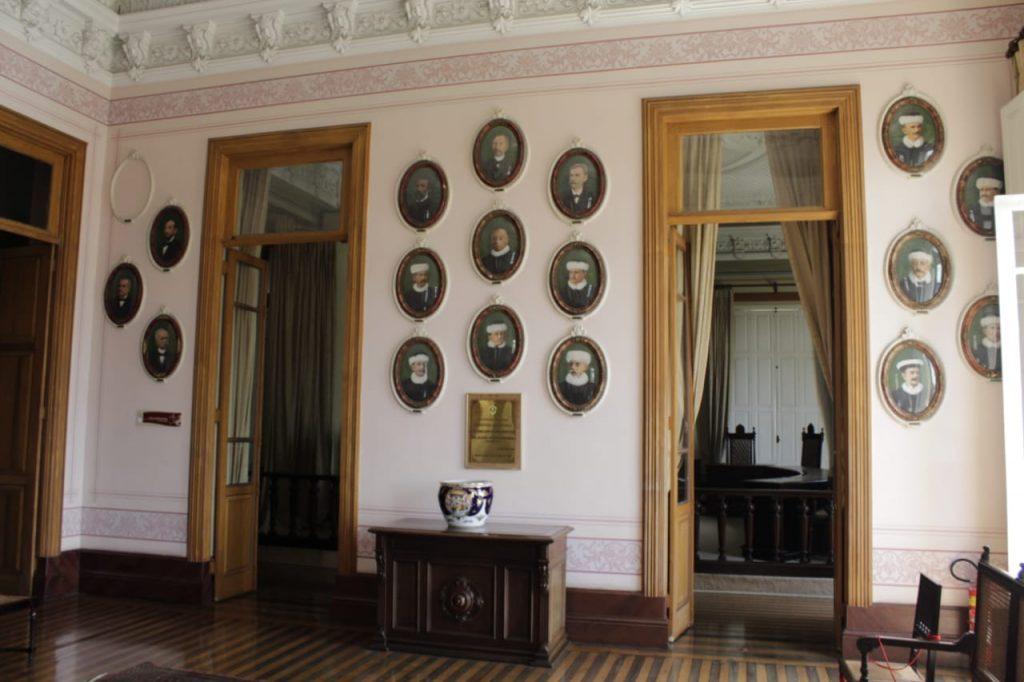 Centro Cultural Palácio da Justiça Manaus Sala dos ex Presidentes