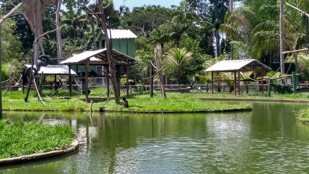 Zoológico do CIGS Lago dos Macacos