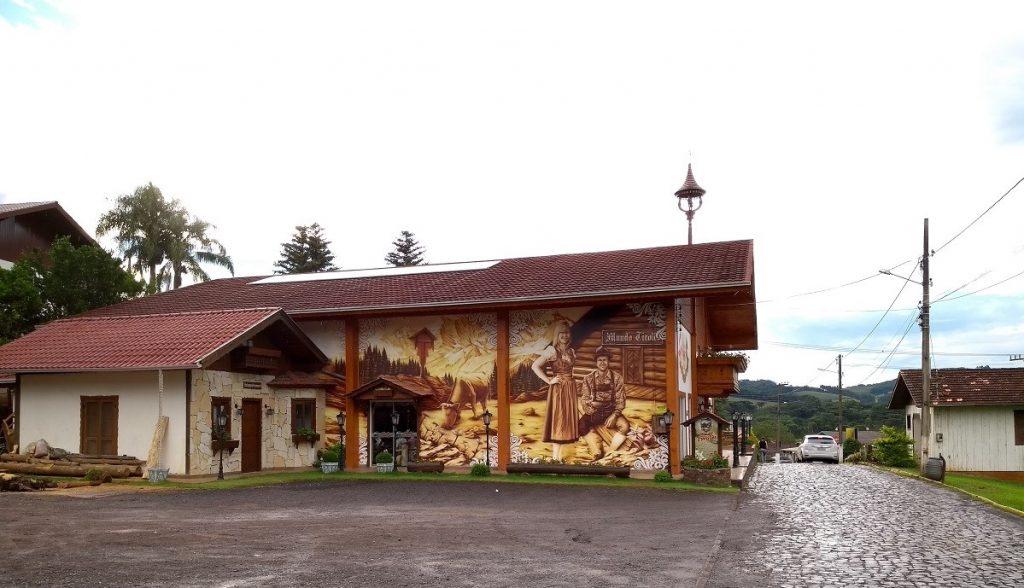 Mundo Tirolês, em Treze Tílias Santa Catarina.