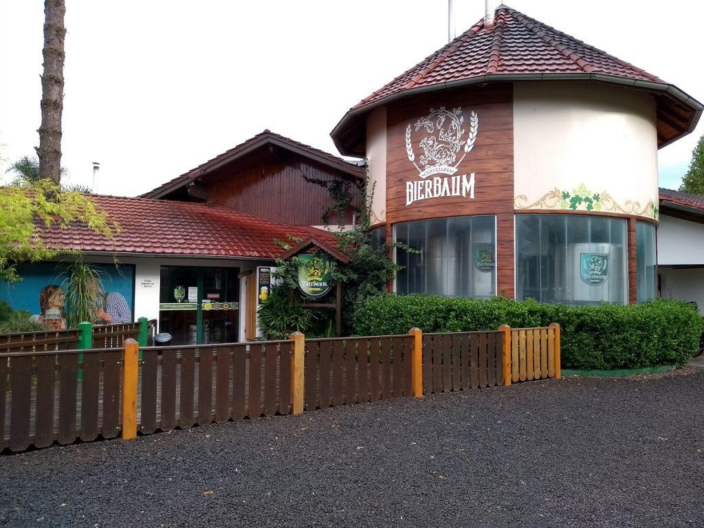 Cervejaria Bierbaum, em Treze Tílias Santa Catarina