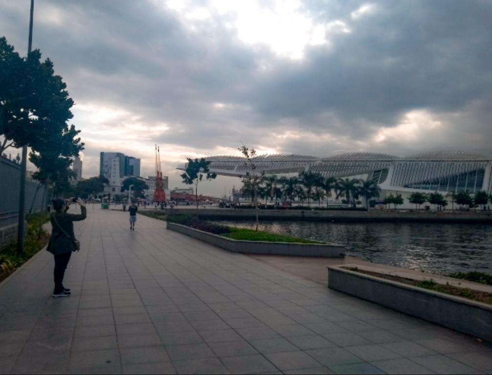 Museu do Amanhã, uma das atrações do Boulevard Olímpico.