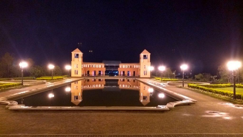 O que fazer em Curitiba, vista noturna do Parque Tanguá