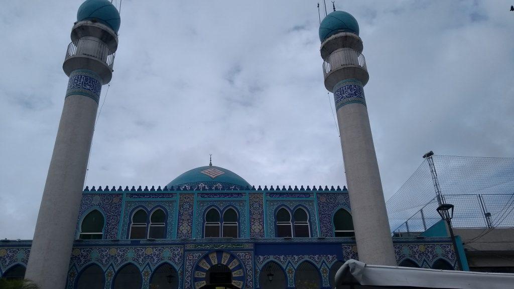 Mesquita Imam Ali Ibn Ali Tálib, no Lago da Ordem
