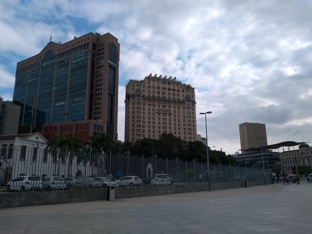 Paisagem urbana no entorno do Boulevard Olímpico